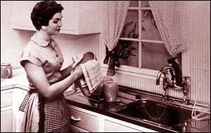 Hoje as mulheres ditas 'emancipadas' torcem o nariz para as 'fadas do lar'.